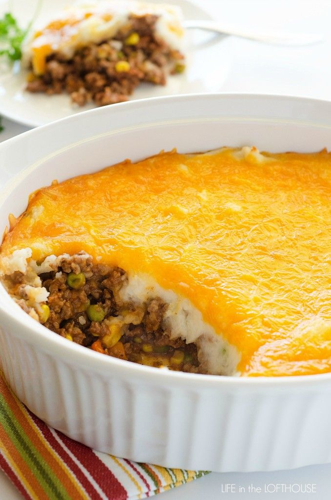 Shepherd's Pie (Cottage Pie)!!