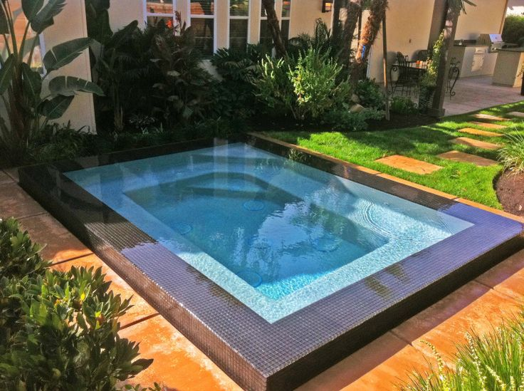 Small Pool Idea For The Home Pinterest For The Pool