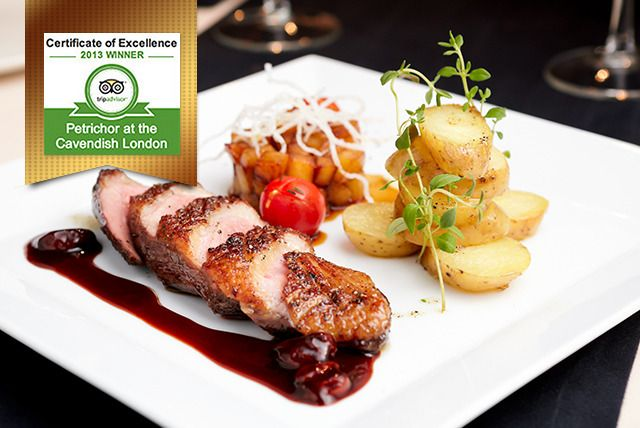 AA Rosette Champagne Dining for 2
