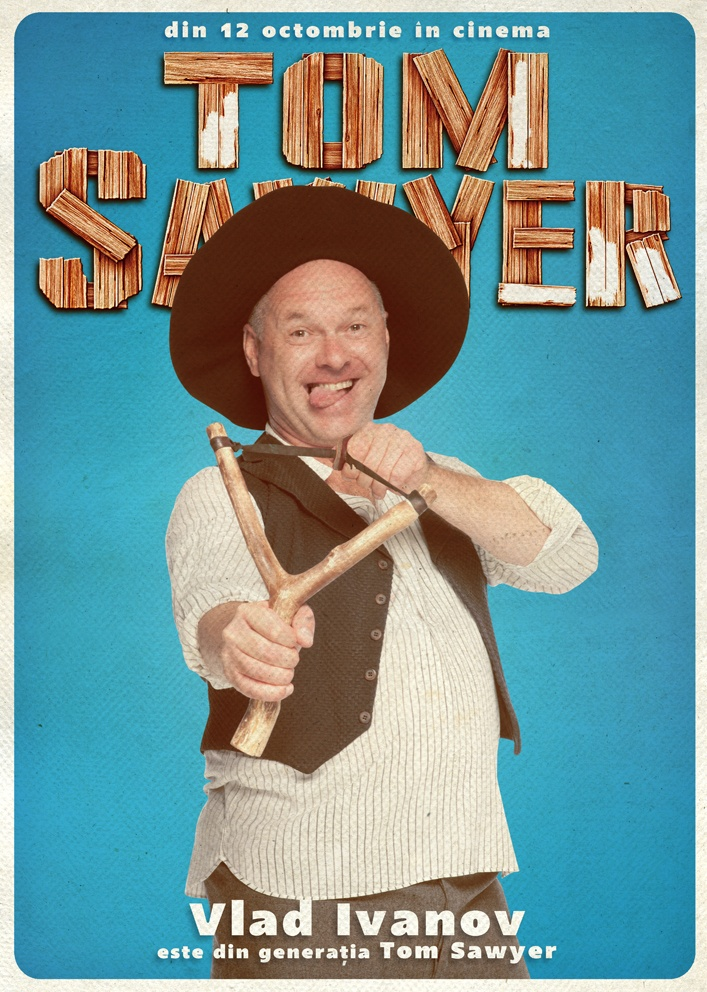 Vlad Ivanov promoveaza campania Generatia Tom Sawyer!