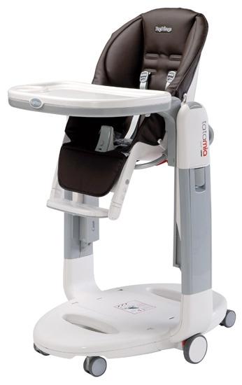 http://idealbebe.ro/peg-perego-scaun-pentru-masa-tatamia-p-4135.html     Suportul pentru picioare, cu pozitie de relaxare - pentru nou-nascut.  * Tavita detasabila, dubla - pentru masa si joaca, reglabila in 2 pozitii. Se poate curata si in masina de spalat vase.  * Husa din piele ecologica, bine captusita pentru confort maxim, anti-alergic tratata.  * Reglabil in inclinare in 4 pozitii.