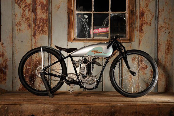 1930 500cc CA Peashooter Factory Racer. Harley's