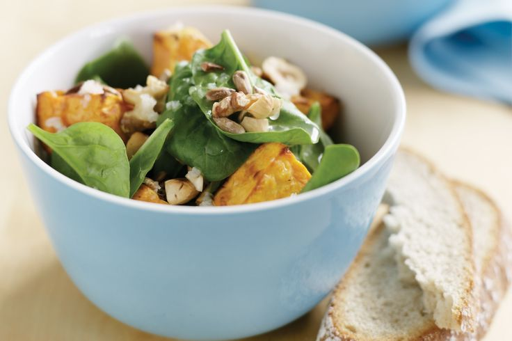 Nutty Roast Sweet Potato Salad