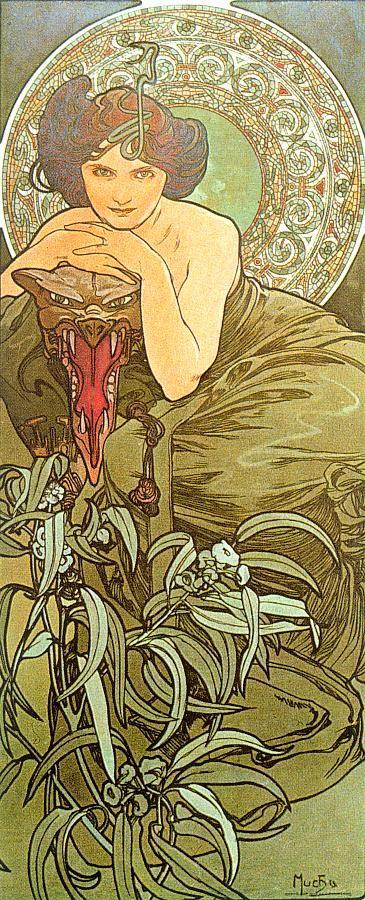 Rosamaria G Frangini | ColorDesire Green Olive | Art Nouveau