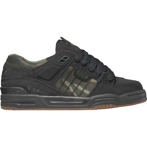 Globe Fusion Skate Shoes - Black/Camo