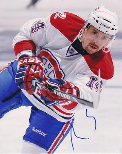 Tomas Plekanec Autographed 8x10 Photograph #SportsMemorabilia #MontrealCanadiens