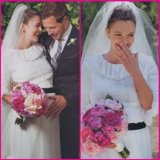 Celebrity wedding inspiration ~ Drew Barrymore ...