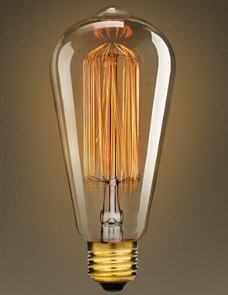 Edison Bulb By Deneve Deluxe 6 Pack