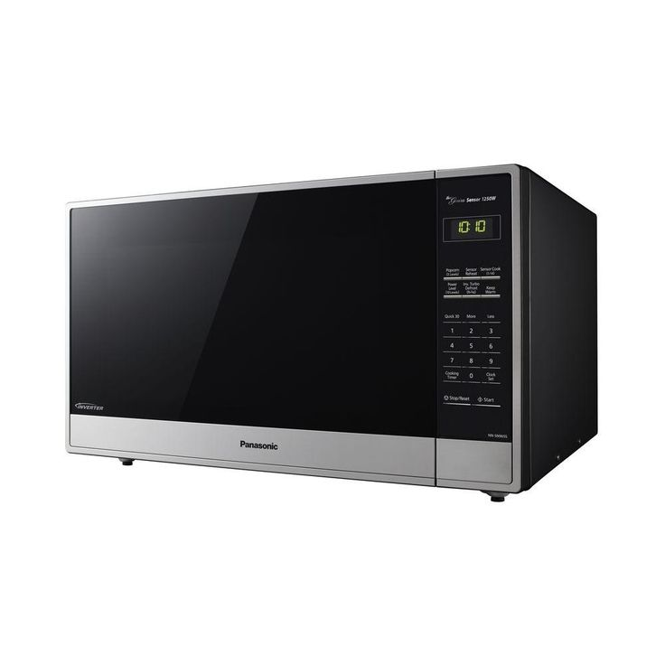 Panasonic 2 Cu Ft Counterop Microwave In Stainlesss Steel With Sensor Cooking