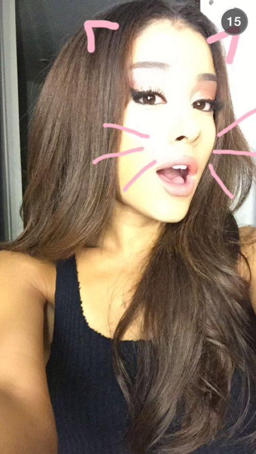 Ariana Grande New Hair