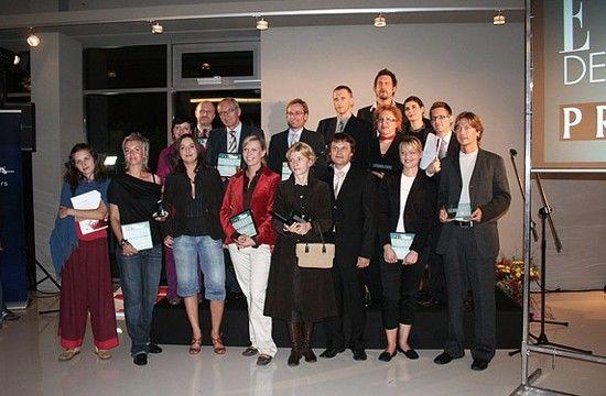 Z wręczenia nagród PRO DECO 2006 przez redakcję ELLE Decoration.
