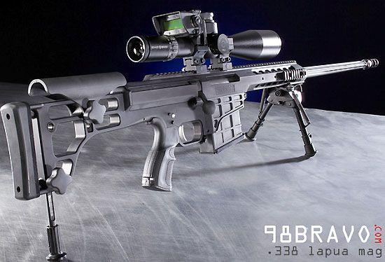Barrett 98 Bravo .338 Lapua Magnum