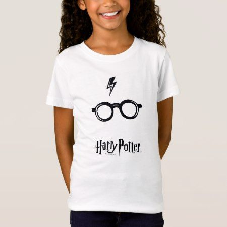 Harry Potter Spell | Lightning Scar and Glasses T-Shirt - tap to personalize and get yours
