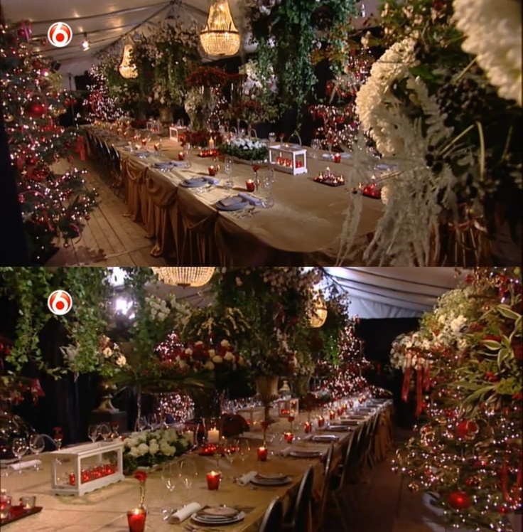 """X-mas dinner at Reade by """"Robs grote tuinverbouwing"""""""