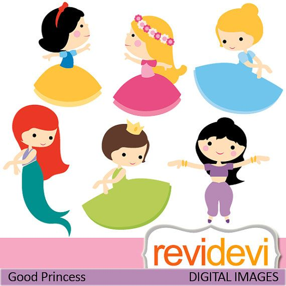 Decorations - Good Princess Digital Clip Art