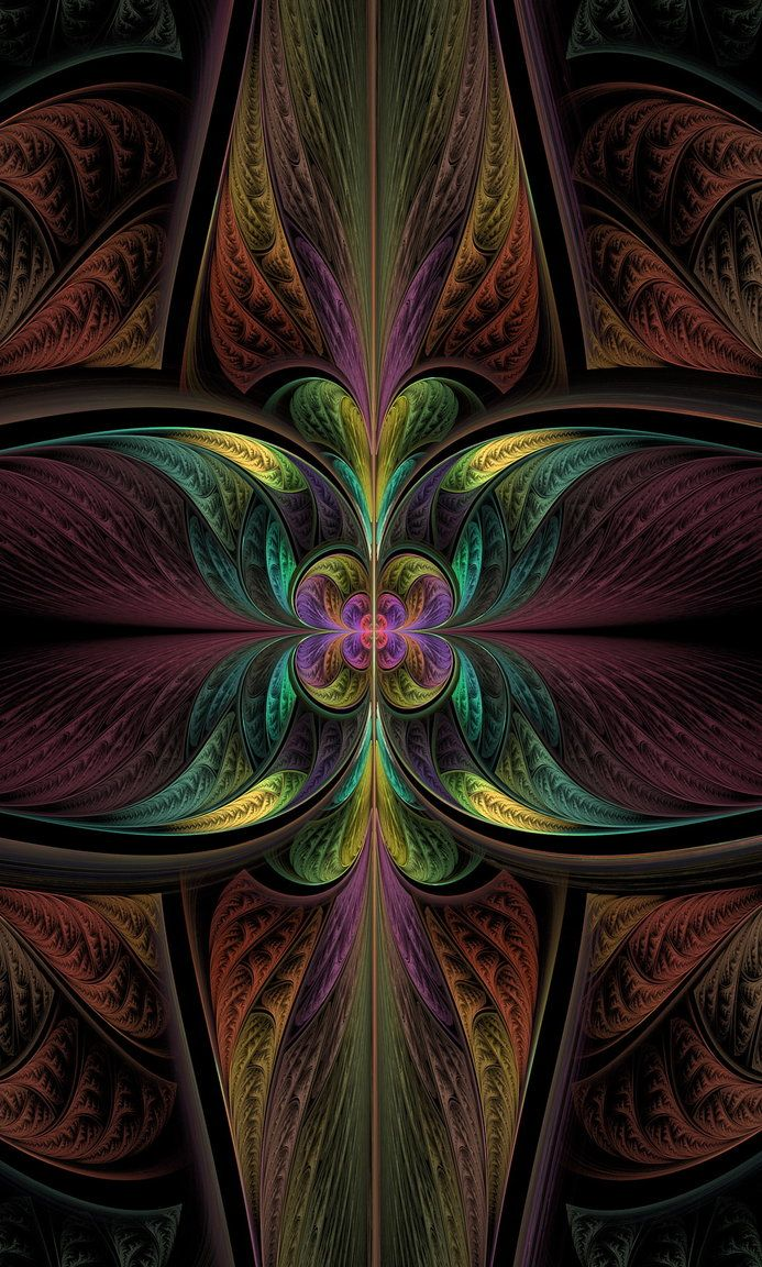 Lilium copyright © 2012    My newest fractal art.