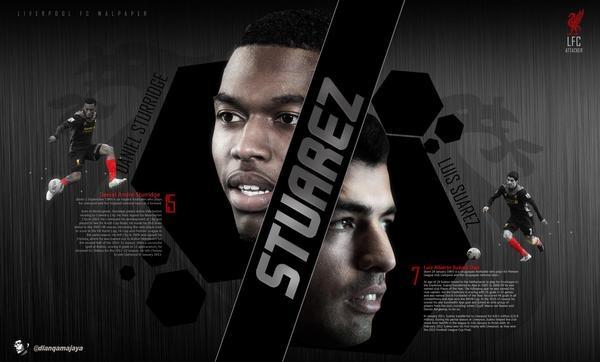 Stuarez #Sturridge15 #Suarez #LFC