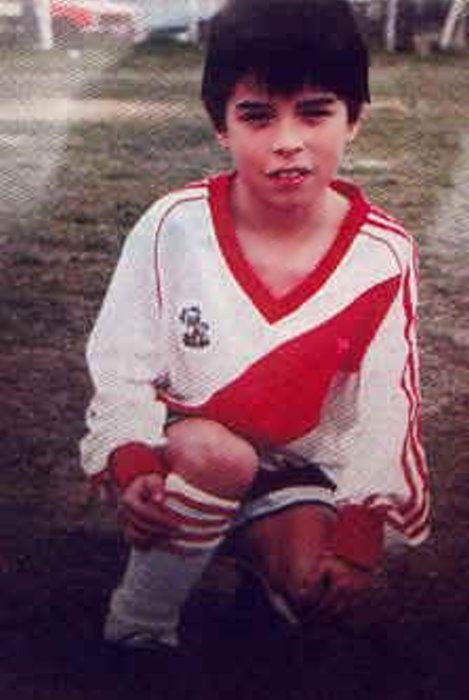 Young Javier Saviola
