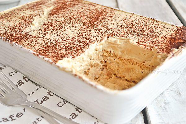 Cappuccino Icebox Cake