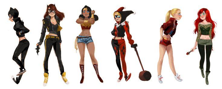 Mingjue Helen Chen - Street Wear Super Heroines