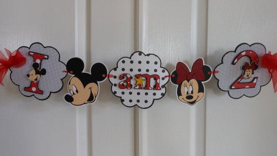 minnie mouse birthday banner  Kids Birthday Ideas  Pinterest ...