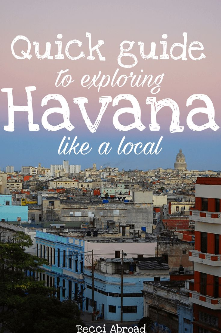 How can you get a taste of what life is like in Havana? This guide takes you through everyday life and customs of the dusty streets of the Cuban capital.