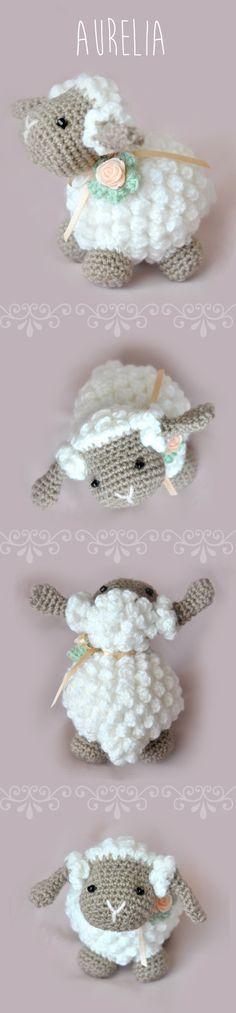 Baby sheep crochet