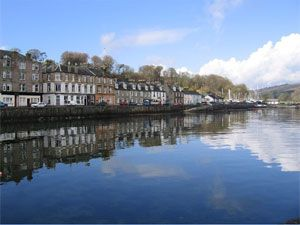 Port Bannatyne, Isle of Bute, Scotland...I do think that Port Bannatyne must have relations to my family.