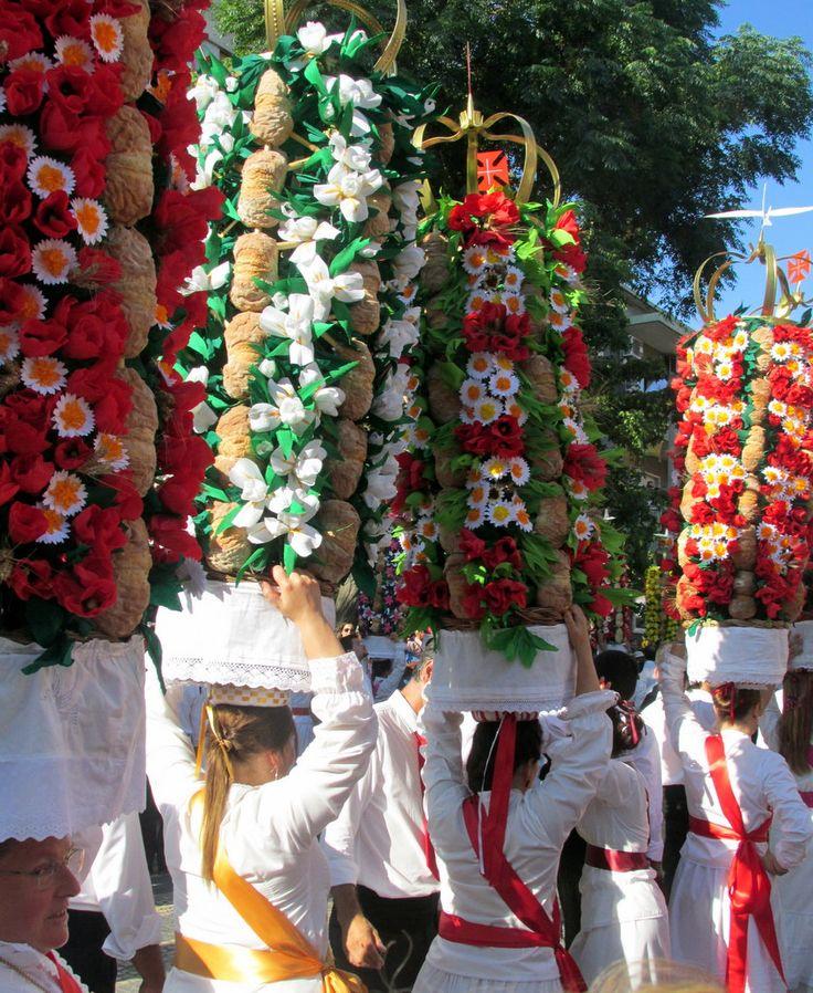 FESTA dos TABULEIROS 2015 Tomar-Portugal