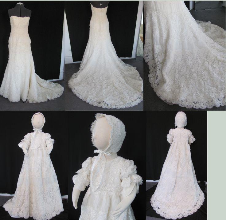 The 214 best Wedding Dress Conversion images on Pinterest | Baptism ...