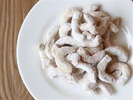 Vanilkové rohlíčky podle Ivety Fabešové