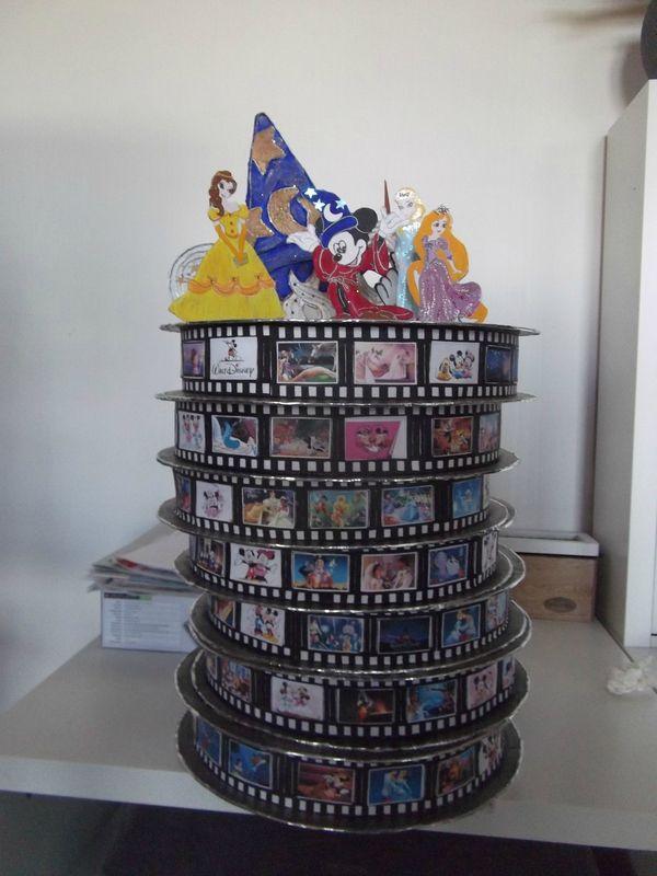 urne de mariage thème : le cinéma de Disney                                                                                                                                                                                 Plus