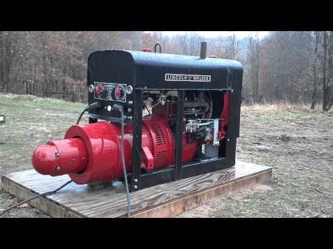 Lincoln Welder SA200 Pipeliner 1953 Shorthood All Copper Windings SOLD - YouTube