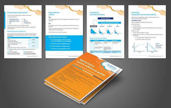 Spirometry Guide Flipchart design