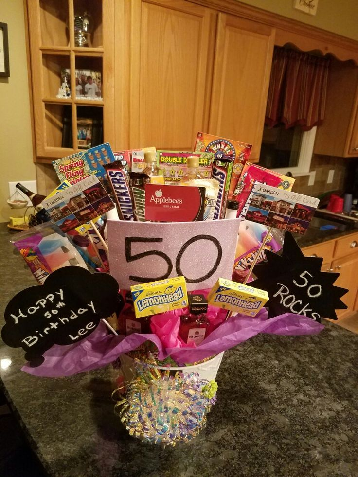 50th birthday bouquet!! (With images) 50th birthday