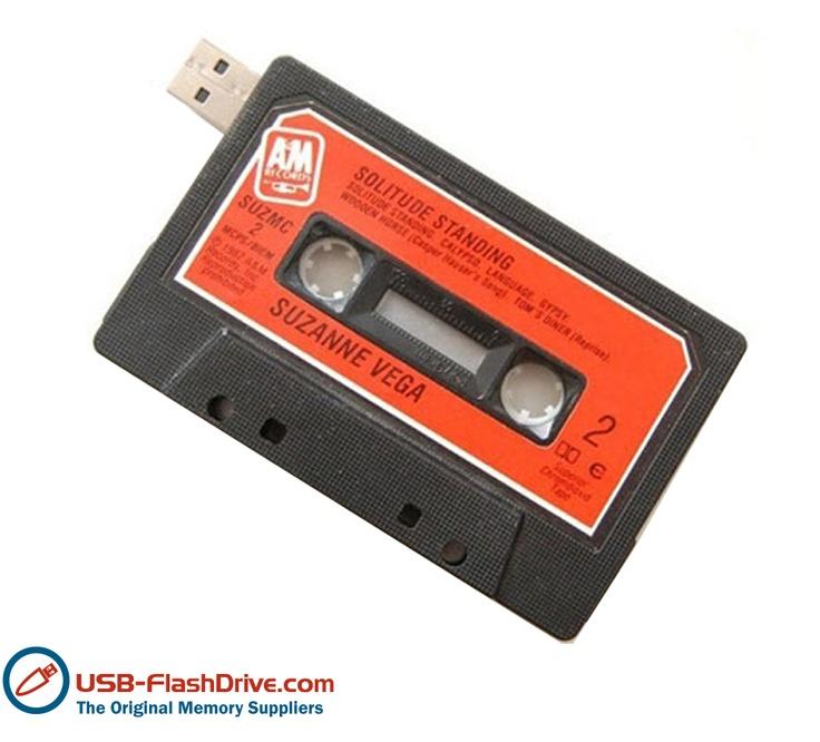Retro Cassette Shaped USB Drive
