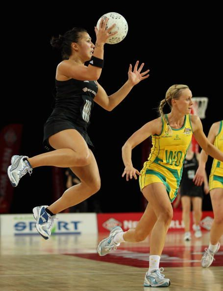 Our fave netballers and their prime protagonists at Auckland's Vector Arena