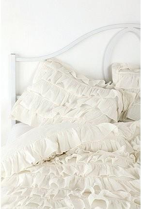 Waterfall Ruffle Sham   Set Of 2 U0026 Duvet Cover