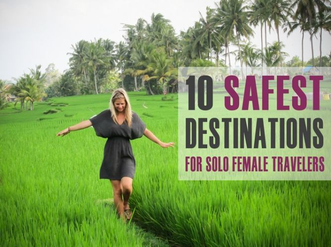 """I've written quite a few articles on solo female travel tips and why every woman should venture out on her own but, I'm often asked, """"Where is it safe for women to travel solo?"""" While there may be some destinations that are more"""