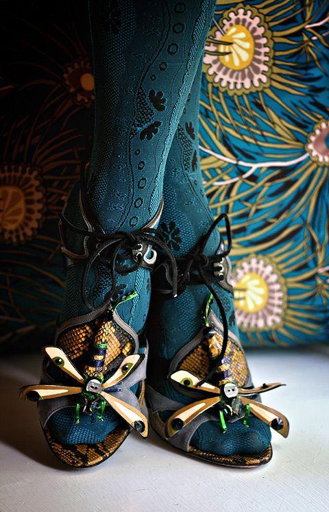 Miu Miu Dragonfly Heels