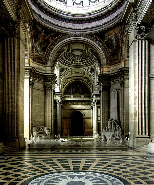 ancient greek interior, the style is seen in the grand ...