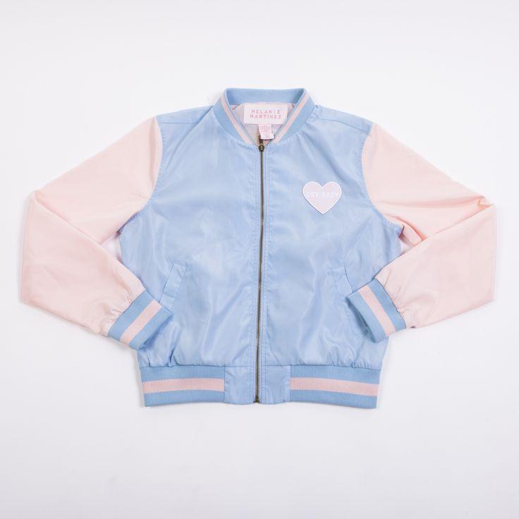 Cry Baby Portrait Bomber Jacket | melaniemartinezmusic.com  http://store.melaniemartinezmusic.com/crybaby-portrait-juniors-bomber-jacket-7.html