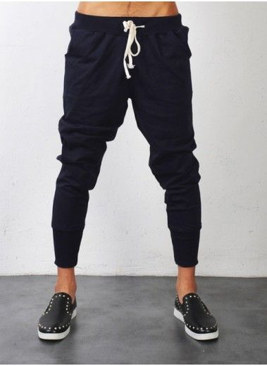 Slim-baggy sweats