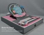 Tea & Note Card Box 3Teas Cups, Crafts Teas, Blank Cards, Cards Boxes, Note Cards, Tea Cups, Paper Cards, Cards Crafts, Card Boxes
