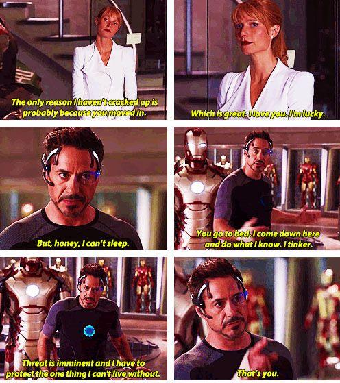 Stop breaking my heart into a million pieces, Iron Man 3. <--- this. I agree. So many feels for Tony Stark.