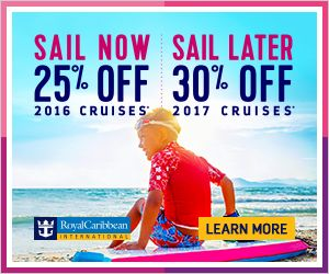 5 Royal Caribbean Cruise Deals Now Available - Book with The Magic for Less Travel for Special Savings! Click on the special above to learn more. Your next Royal Caribbean Cruise is waiting for you.