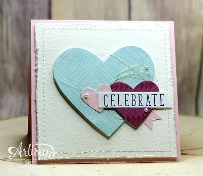 Use the Stampin' UP! Color Me Happy  Card Kit for more than just card bases and envelopes!  Why not turn the into Designer Series Paper and create a whole new look!  - Dani Dziama