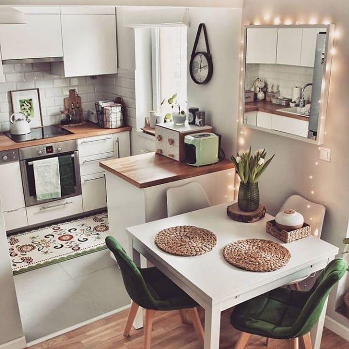 Top 100 Home Interior Design Trends For 2020 In 2020 Small Apartment Kitchen Kitchen Design Small Small Kitchen Decor