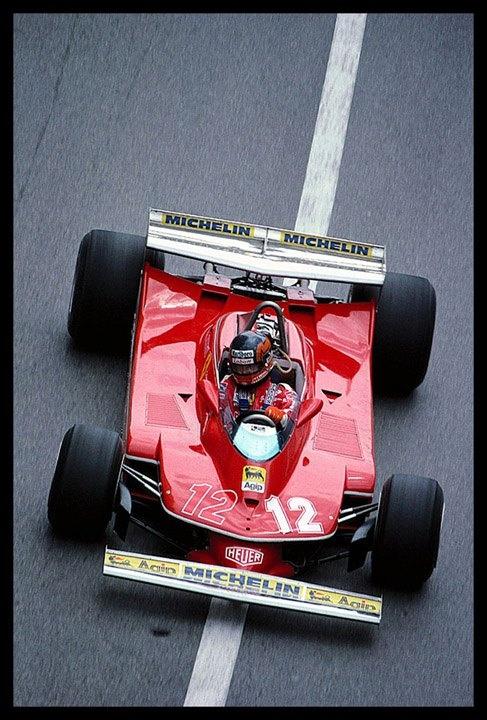 Gilles Villenuve - Monaco 1979