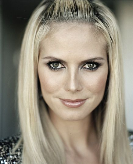 Heidi Klum (1973) German/American Top Model &. Fashion Designer.